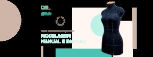 Modelagem manual x digital